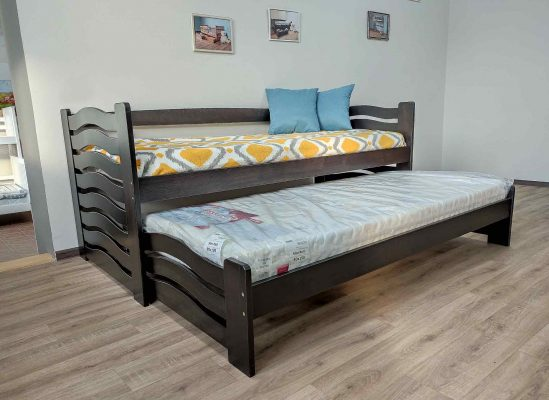 Двійне ліжко Мальва колір венге