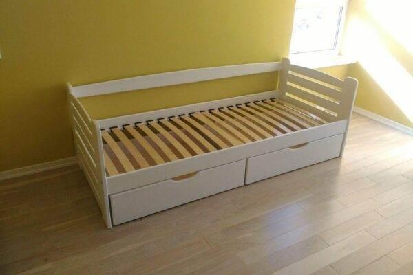 Одноярусне ліжко з ящиками Карлсон ціна