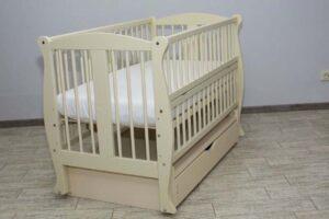 Колискове ліжко Грація з шухлядою
