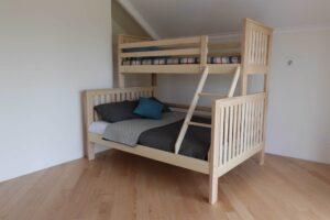 Двоярусне ліжко Орхідея з дерева бук ціна
