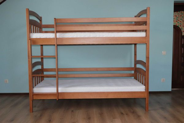 Двоярусне дитяче ліжко з матрацами Бембі купити