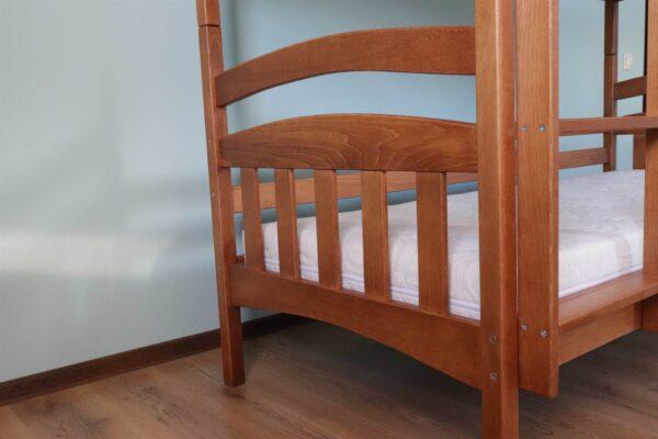 Двоярусне дитяче ліжко Бембі фото
