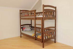 Двоярусне ліжко Білосніжка з дерева купити
