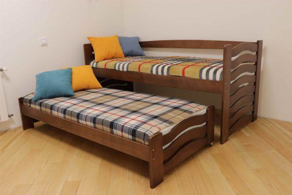 Одноярусне ліжка з додатковим місце Мальва ціна