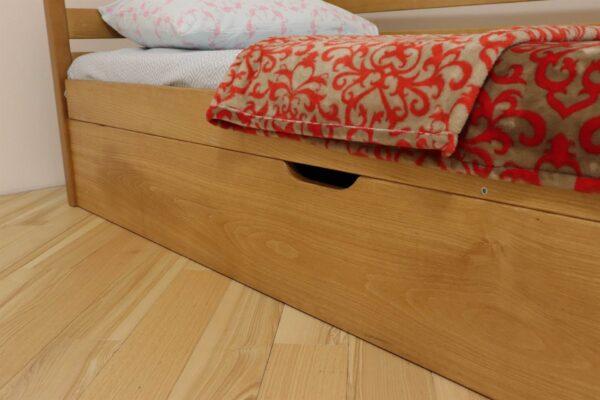 Одноярусне дитяче ліжко з ящиком Котигорошко ціна