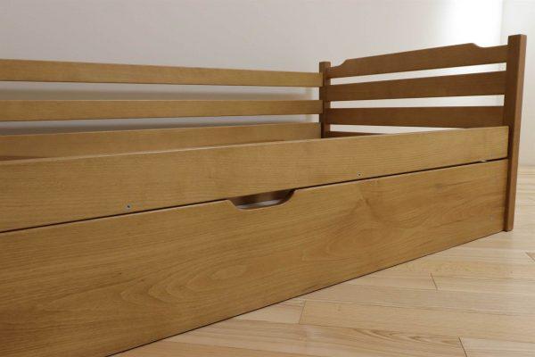 Одноярусне дитяче ліжко з ящиком Котигорошко купити
