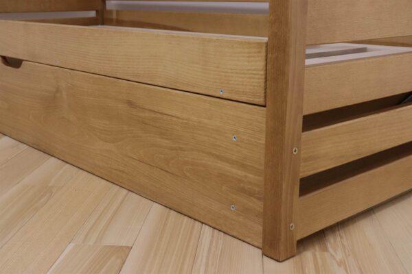 Одноярусні ліжка з дерева фабрика Дрімка