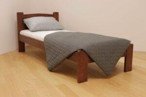 Односпальне ліжко Дональд з дерева фото