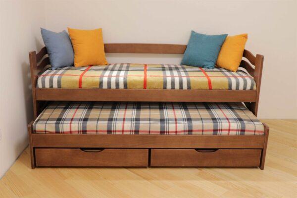 Одноярусне ліжка з додатковим місце Мальва купити