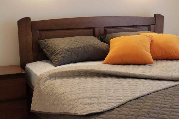 Двоспальне ліжко Афродіта масив буку купити