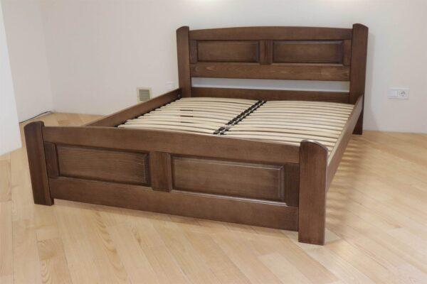 Двоспальне ліжко з натурального дерева бук Афродіта