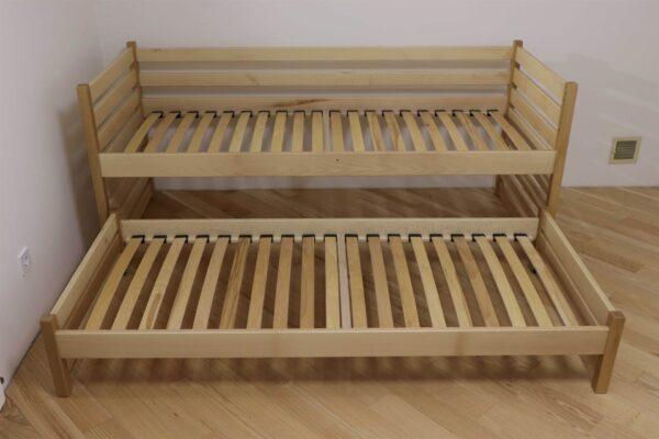 Одноярусне ліжко з виїзним Сімба від фабрики Дрімка купити