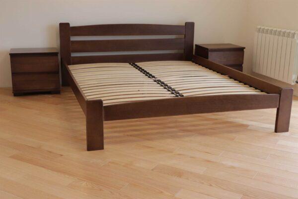 Двоспальне ліжко Дональд з приліжковими тумбами фото