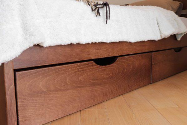 Двоспальне ліжко Дональд з ящиками