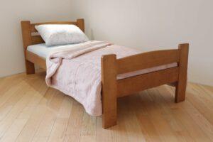 Односпальне ліжко з дерева Каспер доставка