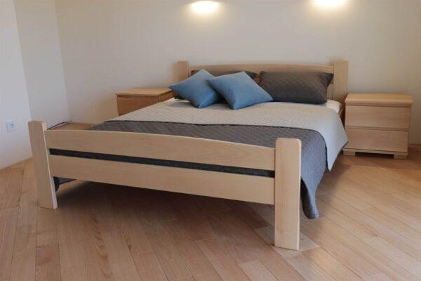 Двоспальне ліжко Каспер з дерева бук купити