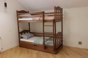Двоярусне ліжка з підйомним механізмом Сонька доставка