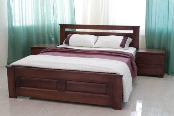 Двоспальне ліжко з дерева Клеопатра доставка