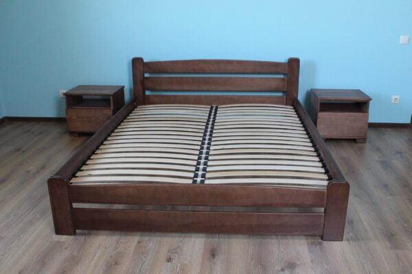 Двоспальне ліжко Дональд з зашитим узніжжям фото