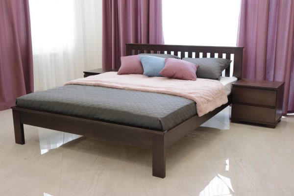 Ліжко Жасмін з низьким узніжжям замовити