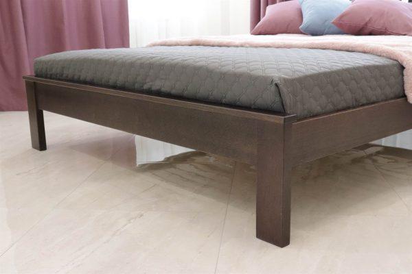 Ліжко Жасмін з низьким узніжжям з дерева бук