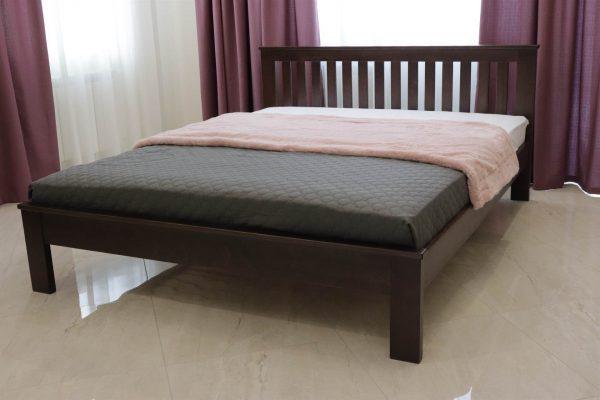 Велике двоспальне ліжко Жасмін з низьким узніжжям фото