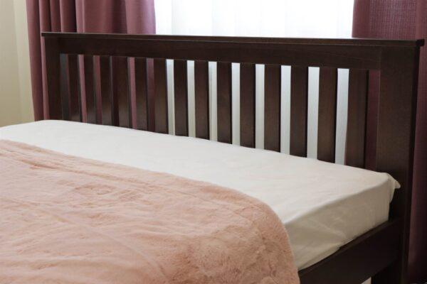 Ліжко двоспальне Жасмін з низьким узніжжям доставка