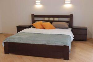 Двоспальне ліжко Геракл з низьким узніжжям купити