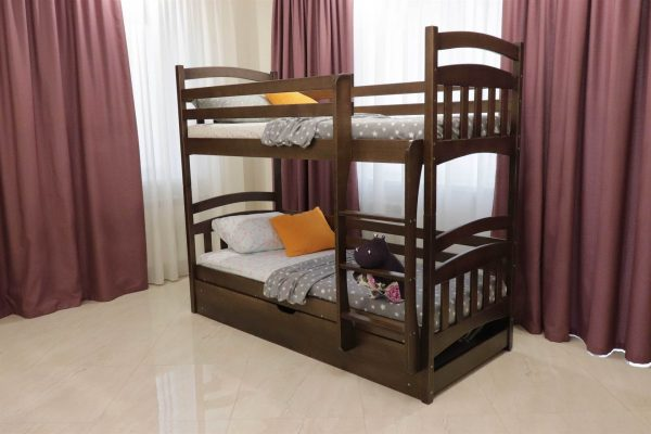 Двоярусне ліжко з підйомним мехнанізмом Бембі купити