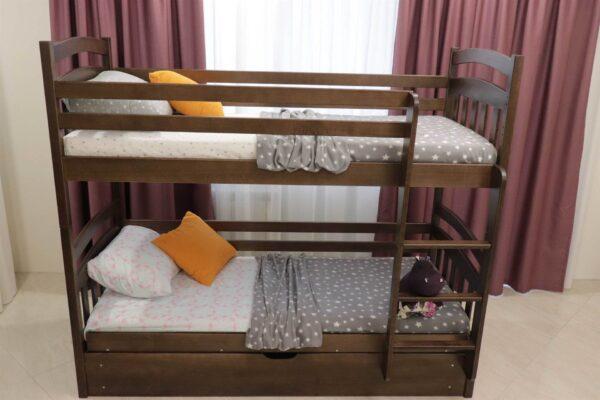 Двоярусне ліжко купити модель Бембі