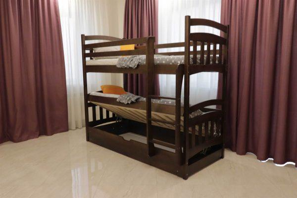 Двоярусне ліжко з підйомним мехнанізмом Бембі відгуки