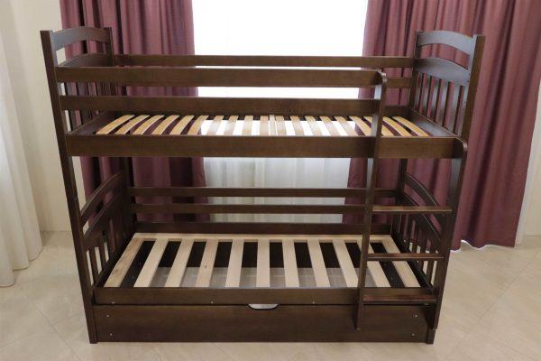 Двоярусне ліжко з підйомним мехнанізмом Бембі замовити