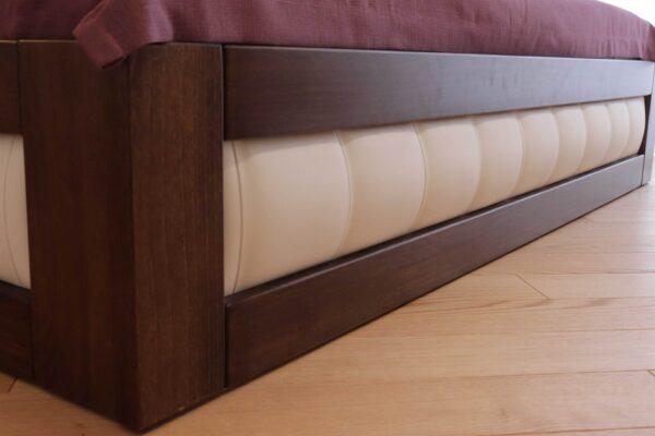 Двоспальне ліжко із тканиною та підйомним механізмом Амелія купити
