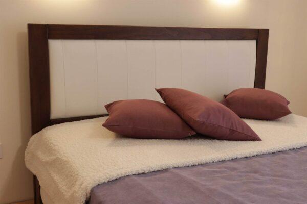 Двоспальне ліжко із тканиною та підйомним механізмом Амелія замовити