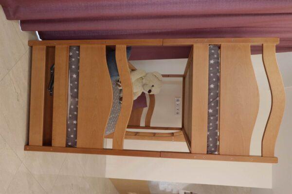 Дерев'яне двоповерхове ліжко Вінні Пух доставка