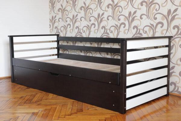 Дитяче односпальне ліжко Телесик з підйомним механізмом виробника Дрімка