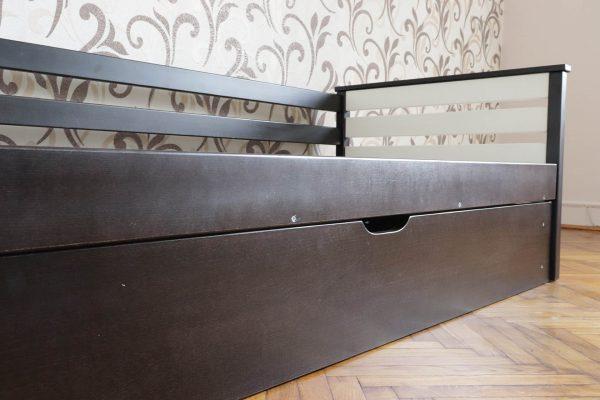 Дитяче односпальне ліжко Телесик з підйомним механізмом виробника Дрімка фото