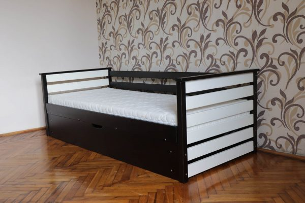 Дитяче односпальне ліжко Телесик з підйомним механізмом виробника Дрімка купити