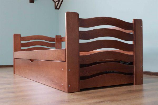Одноярусне ліжко Міккі Маус з ящиком Купити