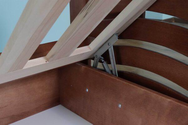 Одноярусне ліжко Міккі Маус з підйомним Механізмом фото