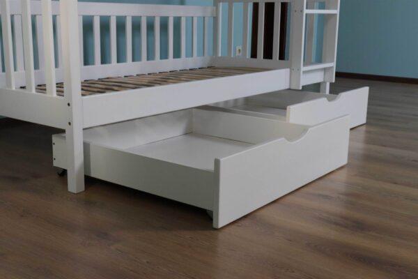Двоярусне ліжко Рукавичка для дітей з ящиками