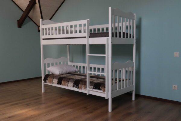 Двоярусне ліжко Рукавичка для дітей замовити
