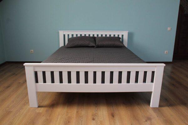 Двоспальне ліжко дерев'яне Жасмін купити