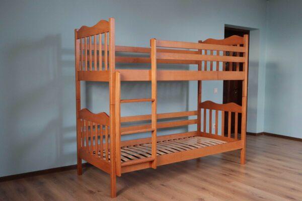 """Двоповерхове ліжко """"Мауглі"""" фото"""
