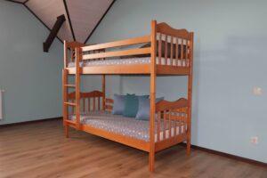 Дитяче ліжко з дерева Мауглі купити