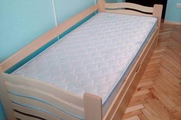Одноярусне ліжко Міккі Маус з підйомним механізмом