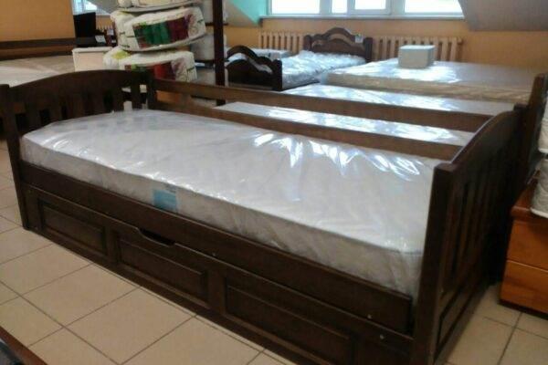 Одноярусне ліжко з підйомним механізмом Немо