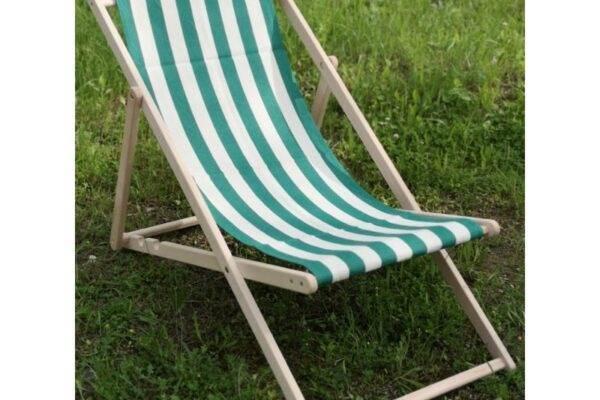 Лежак дерев'яний літній заказати