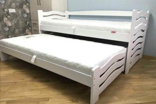 Одноярусне ліжко Мальва для двох дітей замовити