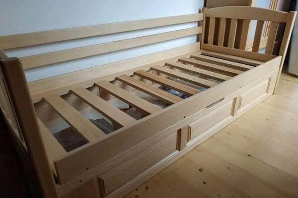 Односпальне дитяче ліжко Немо з нішою фото